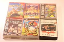 RARO mix JOB LOTTO DI 6 Giochi Commodore 64 C64 128 CASSETTA Games