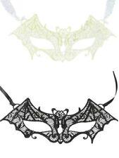 Máscara negra blanca murciélago encaje despedida soltera sexy 50 sombras Grey