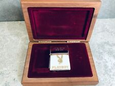 Zippo Silver Plated Playboy Limited Edition Lighter - Only 1000 Made