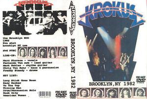 Krokus: DVD Brooklyn,New York 1982