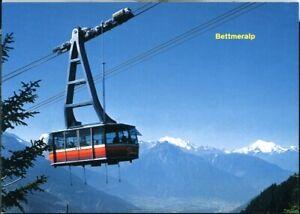 Postcard Luftseilbahn Betten-Bettmeralp Switzerland 1970/80s original