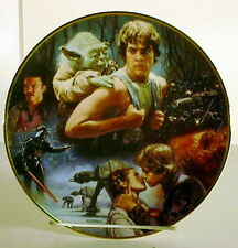 Vintage Star Wars (Empire Strikes Back) 20th Anniversary Plate- Mint Boxed w Coa