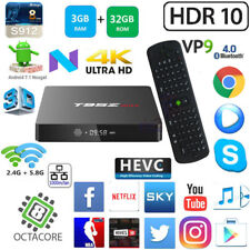 T95Z Max S912 Octa Core 3G 32G Android 7.1 TV Box Measy RC11 Gyro Mouse Keyboard