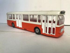 1:43 Norev bus autobus Saviem SC10U orange et blanc N°98  TBE