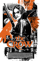 The Crow by James Rheem Davis Screen Print Limited Edition Mondo 42/66 Signed