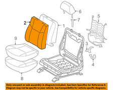 TOYOTA OEM 05-08 Tacoma Front Seat-Cushion Cover-Top Back 71073AD081B2