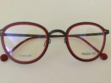 Modo  Isola - Handmade RED Titanium Metal Eyeglasses Frame  - $145.00