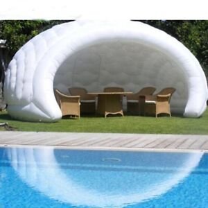 20ft Customized Inflatable Tent Portable Inflatable Dome Tent Cover Structure
