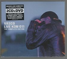VASCO ROSSI LIVE KOM 011  THE COMPLETE EDITION -2 CD + DVD SIGILLATO!!!
