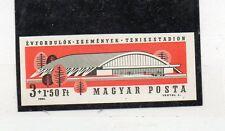 Hungria Deportes Tenis Pabellon Deportivo serie del año 1964 (CS-772)