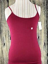 Ann Taylor Loft Womens Tank Top Cami Shirt Size Small Burgundy NWT