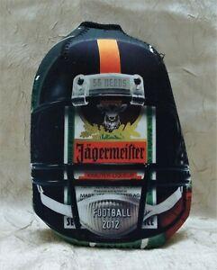 Jagermeister Football Themed Insulating Bottle Cooler Cover Koozie 2012