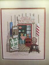 Antique Shop Cross Stitch Pattern