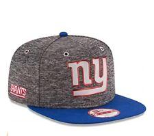 New York Giants NFL NEW ERA 9Fifty Baycik Throwback Retro Hat Cap Flat Snapback