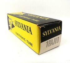Vintage Electronic Tube - 18AJ10 Sylvania Tube - NOS in boxes          BRT015