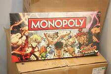 STREET FIGHTER MONOPOLY BRAND NEW SEALED