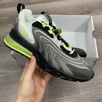 NIKE AIR MAX 270 ENG NEON BLACK GREY TRAINERS SHOES SIZE UK8.5 US9.5 EUR43