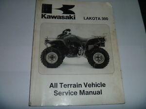 Kawasaki KEF300A1 1995 Lakota300 300 Motorcycle Service Manual