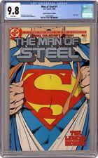 1st App post-crisis Superman Collector's EditionMan Of Steel 1 (1986) CGC 9.8