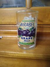 Davy Crockett Mirabel Grape Jelly Glass With Label