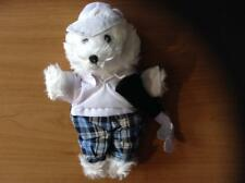 Build A Teddy Bear/Dioll 8-10� Soft White-Golfer Outfit + Accessories # 60