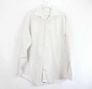 Banana Republic Mens Medium 15 15.5 Long Sleeve Button Front Casual Dress Shirt