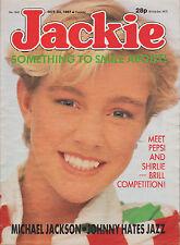 Jackie Magazine 24 October 1987 No. 1242    Johnny Hates Jazz    Pepsi & Shirlie