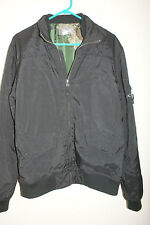 Young Men's Black O'NEILL Lined Zip Up Jacket Sz M L#1001