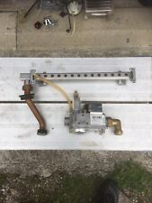 Alpha CB28 boiler GC 47-532-16 parts - Gas valve, pipe and burner rail