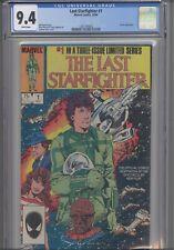 The Last Star Fighter#1 CGC 9.4 1984 Marvel Movie Adaptation : NEW Frame