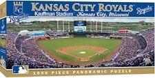 Kansas City Royals 1000 Piece Panoramic Puzzle, MasterPieces MLB Licensed Jigsaw
