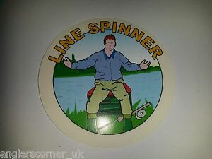 LINE SPINNER / CLASSIC FISHING STICKER
