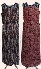 Tommy & Kate Boutique Lace Yoke Reversible Maxi Dress SIZE 20