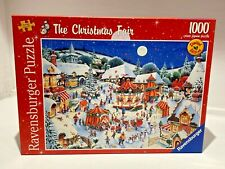 Ravensburger 1000pce Jigsaw Puzzle-The Christmas Fair VG Condition Complete