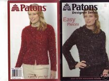 Knitting Book: Easy Pieces - Paton Designer Series L