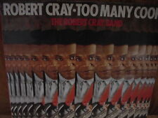 ROBERT CRAY To Many Cooks Rare Debut Analog 1989 PRESSED IN HOLLAND Sealed LP