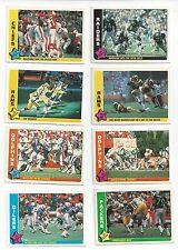 1985 Fleer Football you pick commons 10 picks for $2.00  NM to Mint