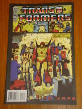 TRANSFORMERS BEST OF UK TIME WARS #3 RI RETRO COVER 2008 IDW DAN KHANNA