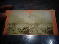 Ancienne Photographie Relief Visionneuse Fontaine de Vaucluse