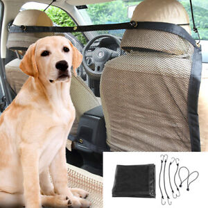 Car Pet Dog Barrier Vehicle Travel Safety Back Seat Net Mesh for SUV Trunk 47x30