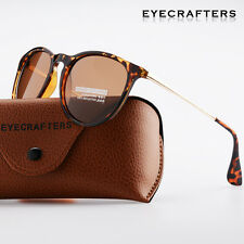 Fashion Womens Brand Designer Polarized Sunglasses Retro Mirrored Erika Glasses