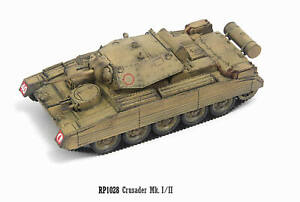 S-Model 1/72 Crusader Mk.Ⅰ/Ⅱ with Sub turret Finished Product #RP1028