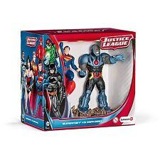 SCHLEICH 22509 - JUSTICE LEAGUE SUPERMAN vs DARKSEID- DC FIGURES 2-PACK - NEW