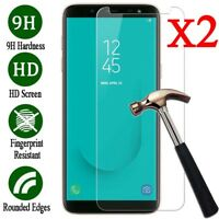 Tempered Glass Screen Protector For Samsung Galaxy S5 S6 S7 A6 A8 J6 J8 2018