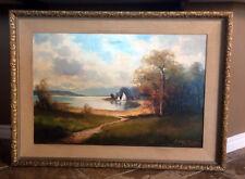 LARGE Helmut Stadelhofer (German, 1914-1979) Oil On Canvas Painting, Original