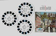 VIEW MASTER : EIFEL und AHRTAL - 3 disques/reels  C 425