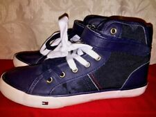 Tommy Hilfiger High Tops Hi Tops Boys Athletic Sneakers Trainers Shoes Size 5