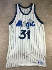 Vtg Orlando Magic Jeff Turner Jersey Champion Game Worn Used Signed Sand  Knit 0e58e9811