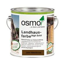 Osmo Landhausfarbe HS 2606 Mittelbraun 750ml
