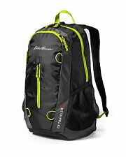 NEW Eddie Bauer 20L Stowaway Packable Daypack Back Pack BLACK